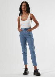 Afends Women's 'Blondies' Slim Fit Stretch Denim Jeans - 'Classic Blue'