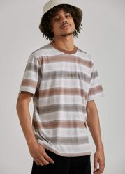 afends striped tee