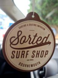 Sorted Surf Shop Car Air Freshener - Vanilla