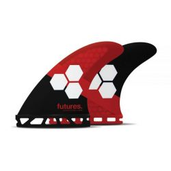 Futures AM3 Honeycomb Tri Fin Set in Small