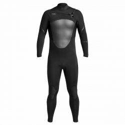 Xcel Axis X Mens 5/4mm Chest Zip Winter Wetsuit 2021 - Black - Full View
