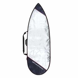Ocean & Earth Barry Basic 6'8 Short Board Bag Cover 2021 - Silver - Front