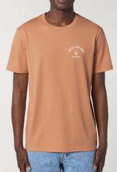 Sorted Surf Shop Arch T Shirt - Camel