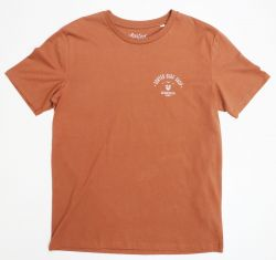 Sorted Surf Shop Arch T Shirt - Camel