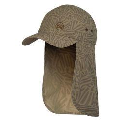 Buff Bimini Cap - Stoney Brindle - Full View