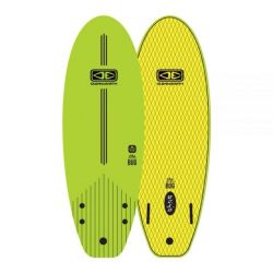 Ocean & Earth 5ft 6 The Bug Mini Soft Surfboard in Lime