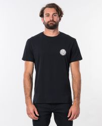 Rip Curl Original Wetty Short Sleeve Tee - Black