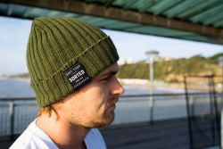Sorted Surf Shop Knitted Beanie - Green