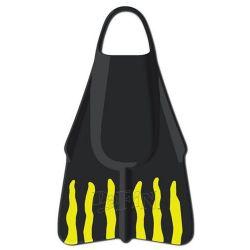 Dafin Brian Keaulana Swim & Bodyboard Fins - Black/Gold