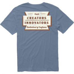 Vissla Creators Razorblade Eco T-Shirt - Slate