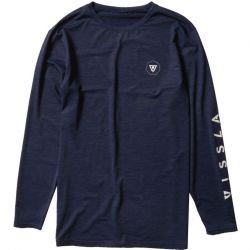 Vissla All Time LS Surf T-Shirt - Navy