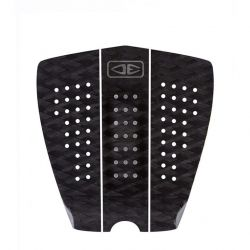 Ocean and Earth Fat Boy 3 Piece Traction Pad 2021 - Security Black - Full View