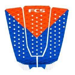 FCS Kolohe Andino Tail Pad - Red/Blue