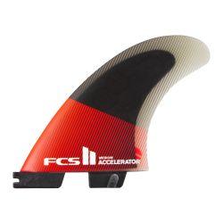 FCS II Accelerator PC Tri Fin Set 2021 - Red