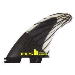 FCS II Carver PC Carbon Tri Fin Set 2020 in Medium