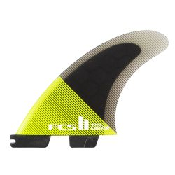 FCS 2 Carver Performance Thruster Fins 2021 - Black