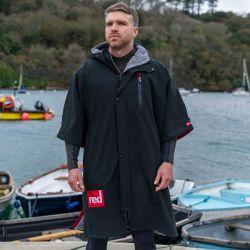 Red Paddle Mens Pro Short Sleeve Change Jacket 2021 - Black