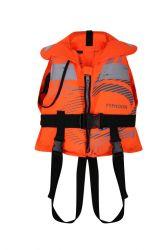 Typhoon Filey 100N Childrens Life Jacket - Orange - Full View
