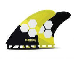 Futures AM2 Honeycomb Tri Fin Set in Large