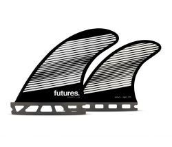 Futures F4 Legacy Series Quad Fin Set in Small