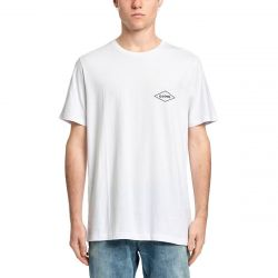 Globe Check Out T Shirt - White
