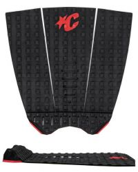 Creatures of Leisure Mick Fanning Lite Tail Pad - Black/Red