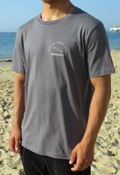 Sorted Surf Shop Circle T-Shirt 2021 - Charcoal