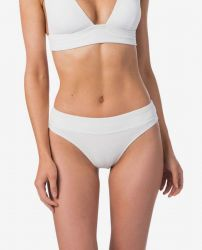 Rip Curl Surf High Waist Womens Bikini Bottom - White - front