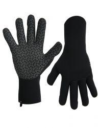 Typhoon Strom 3mm Neoprene Youth Gloves 2022 - Black - Full View