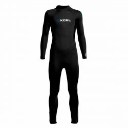 Xcel Learn to Surf 3/2mm Kids Back Zip Summer Wetsuit - Black