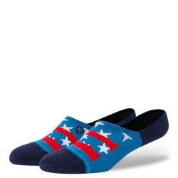 Stance Socks Freedom Strike No Show - Blue
