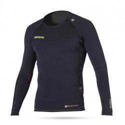 Mystic Majestic 2mm Long Sleeve Mens Neoprene Top - Black