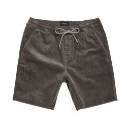 Brixton Madrid II Shorts - Charcoal Cord