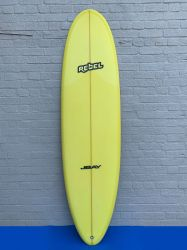 Rebel Magic Carpet 6ft 10 PU Surfboard - Yellow