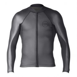 Xcel Shark Skin Long Sleeve 2/1mm Mens Wetsuit Jacket - front