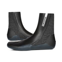 Mystic Supreme 5mm Split Toe Wetsuit Boots - Black