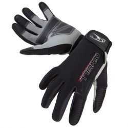 O'Neill  Explore 1mm Diving Wetsuit Gloves - Black - Front Detailed View