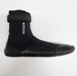 Outdoor Adventure 5mm Non Zip Wetsuit Boots - Black/Blue - Side View
