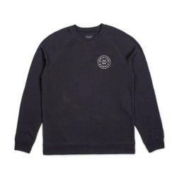 Brixton Oath Crew Sweatshirt -  Black