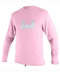 O'Neill Toddlers Skins Long Sleeve Girls Rash Tee