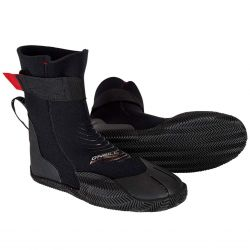 O'Neill Youth Heat 3mm Round Toe Wetsuit Boots - Black