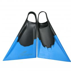 Paipo Bodyboard/Swim Fins - Black/Blue