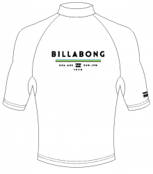 Billabong unity rash vest for Men