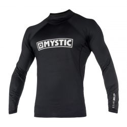 Mystic Junior Boys Star Long Sleeve Rashvest - Black - Front