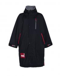 Red Paddle Mens Pro Long Sleeve Change Jacket 2021 - Black - Front