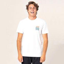 Ripcurl El Diablo Mens VPC T-Shirt - White - Front