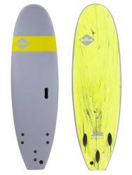 """Softech Roller 7'0"""" Foam Surfboard - Grey"""