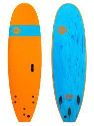 Softech Roller 7ft Surfboard - Orange - Full View