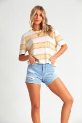 Billabong Womens 'Soul Babe' T-Shirt - 'Pineapple'