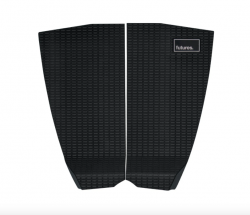Futures Wildcat 2 Piece Tail Pad - Black